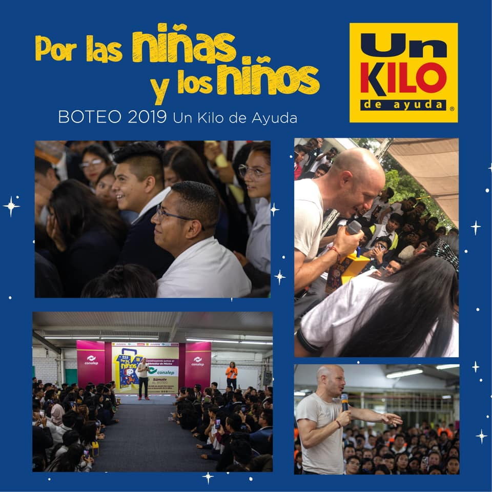 © Un Kilo de Ayuda 2019 - Ciudad de México