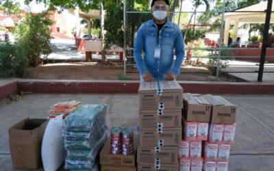 Entrega de paquetes de alimentos reforzado en México