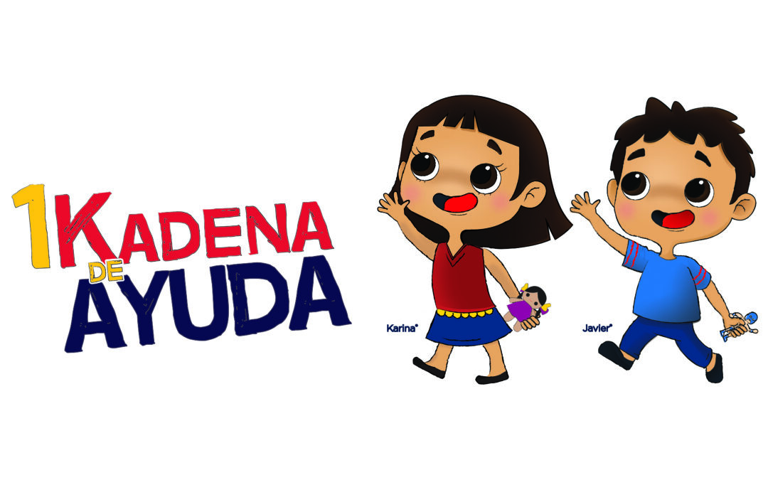 Súmate a 1Kadena de Ayuda por los niños de México