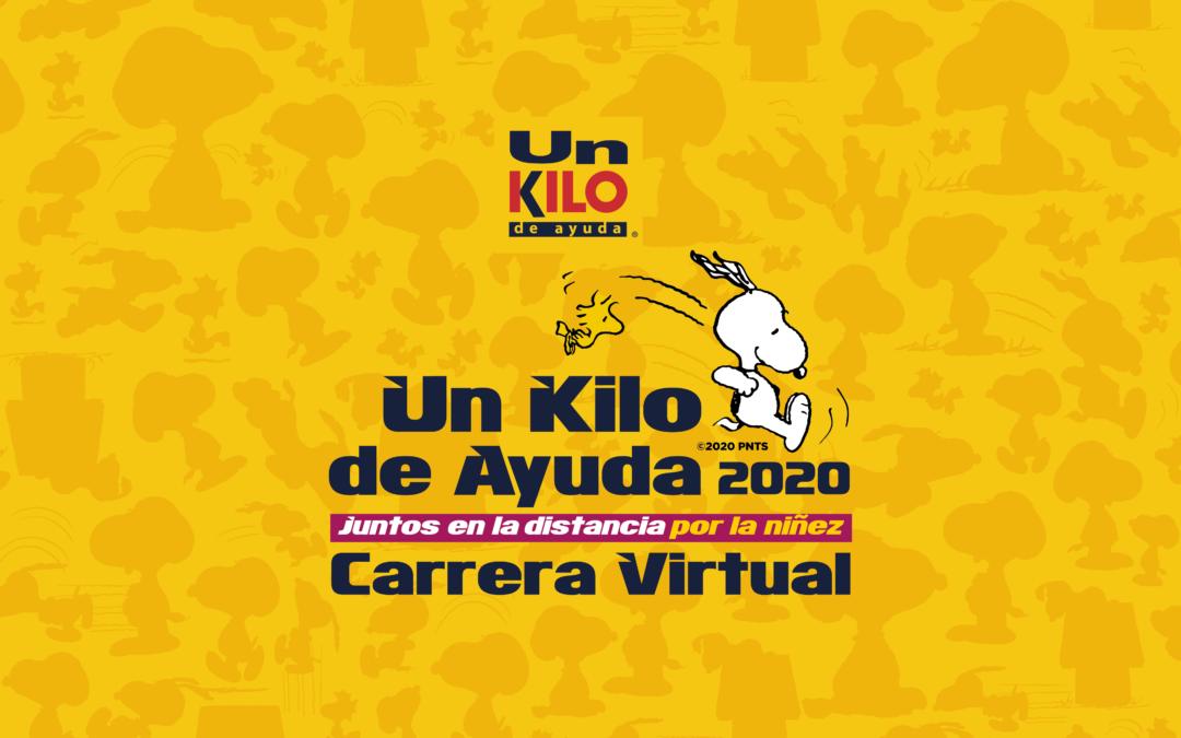 Carrera Virtual Un Kilo de Ayuda