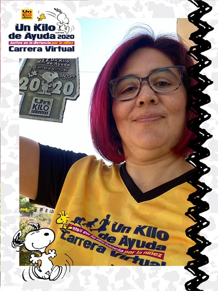 Carrera Virtual Un Kilo de Ayuda 65