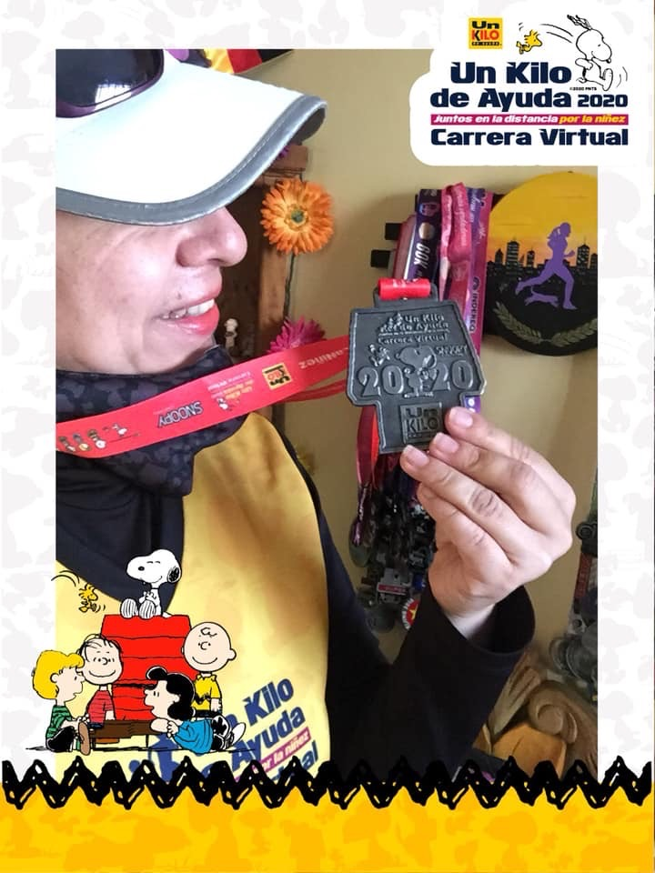 Carrera Virtual Un Kilo de Ayuda 68
