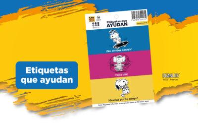 Stickers Snoopy Un Kilo de Ayuda