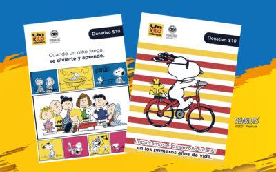 ¡Conoce las nuevas tarjetas de Snoopy y sus amigos!